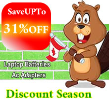Discount season, get batteries and ac adapters with 31% discount