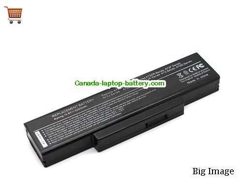 ASUS A32-K72 Battery 5200mAh 10.8V Black Li-ion