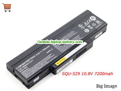 MSI BTY-M66 Battery 7200mAh 10.8V Black Li-ion