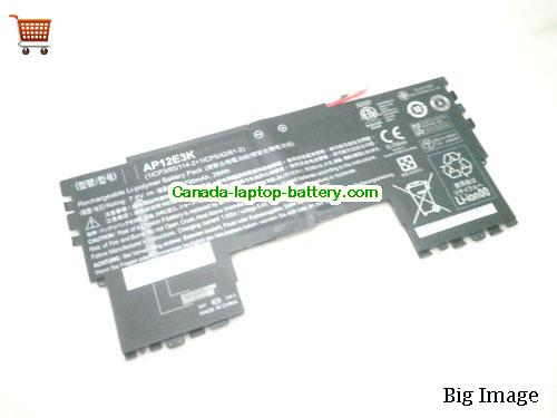 ACER 1ICP54261-2 Battery 3790mAh, 28Wh  7.4V Black Li-Polymer