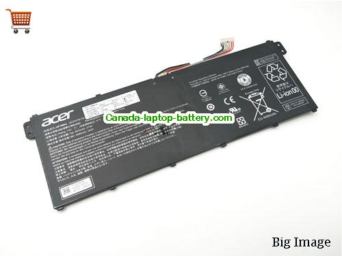 ACER 2Icp478104 Battery 4870mAh, 37Wh  7.6V Black Li-Polymer