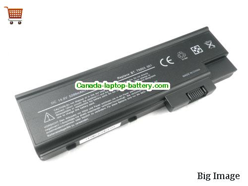 ACER LC.BTP03.003 Battery 4400mAh 14.8V Black Li-ion