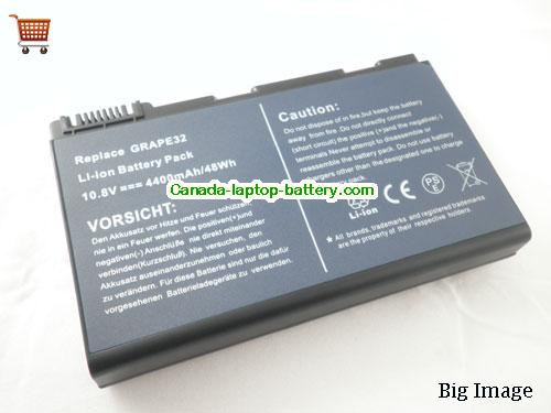 ACER TM00741 Battery 5200mAh 11.1V Black Li-ion