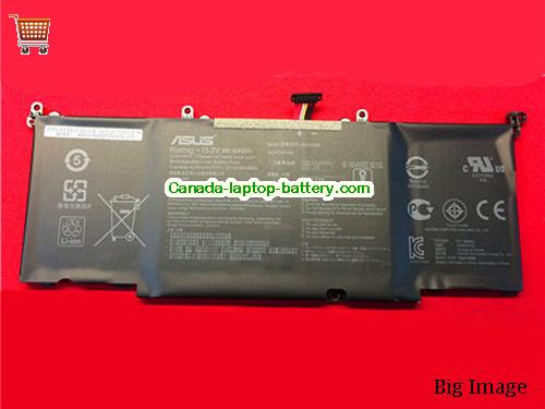 Canada Genuine Asus B41N1526 Battery li-ion rechargeable For ROG FX502VM series