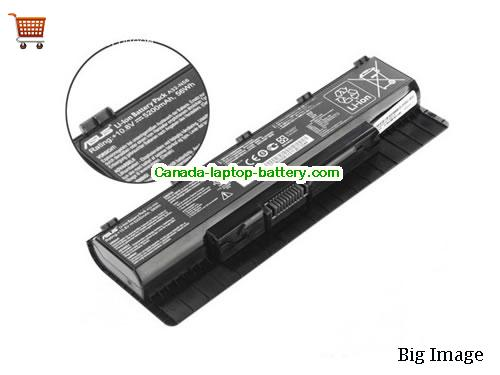 Canada New Genuine Asus A31-N56 A32-N56 Battery for ASUS N46 N46V N46VJ N46VM N46VZ N56 N56D N56DP N56V N56VJ N76VZ Series Laptop