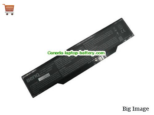 Canada Replacement Laptop Battery for  IPC StarNote 8066,  Black, 4400mAh, 4.4Ah 11.1V