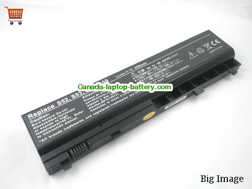 Canada Replacement Laptop Battery for  LENOVO Y200 Series,  Black, 4400mAh 11.1V
