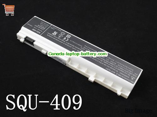 Canada Replacement Laptop Battery for  LENOVO Y200 Series,  White, 4400mAh 10.8V