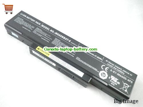 MSI BTY-M66 Battery 4400mAh, 47.52Wh  10.8V Black Li-ion