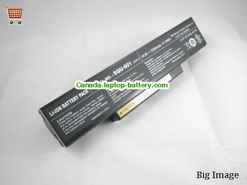 MSI BTY-M66 Battery 7200mAh, 77.76Wh  10.8V Black Li-ion