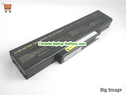 MSI BTY-M66 Battery 4400mAh 11.1V Black Li-ion