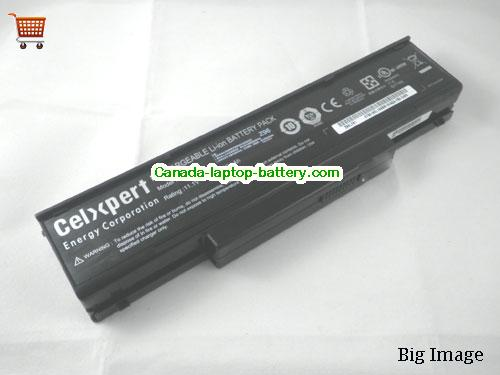 MSI BTY-M66 Battery 4800mAh 11.1V Black Li-ion
