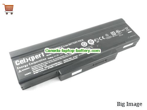 MSI BTY-M66 Battery 7200mAh 11.1V Black Li-ion