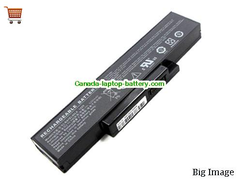 Canada Replacement Laptop Battery for  LENOVO E42G, E42L, E42, K42,  Black, 5200mAh 11.1V