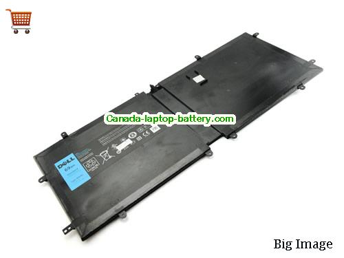Canada Genuine 4DV4C 63FK6 D10H3 69Wh Battery For Dell DELL XPS 18 1810 1820 Laptop