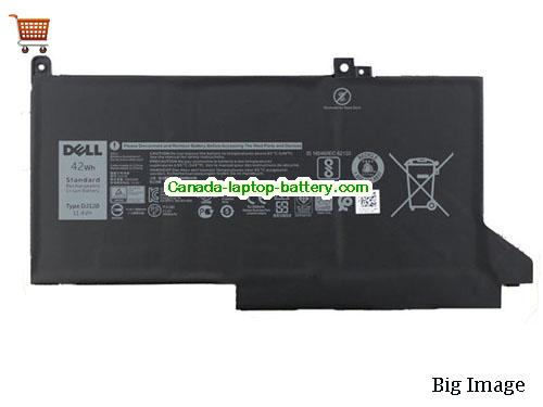Canada Genuine Dell DJ1J0 Battery Pack 42Wh 11.4V