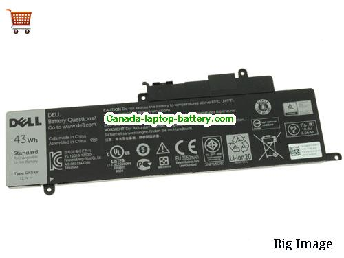 Canada Genuine DELL GK5KY laptop Battery For Inspiron 11 13 15 series 11.1V 43Wh