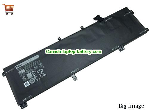Canada Genuine 245RR H76MV 91Wh Battery for Dell  Precision M3800  XPS 15 9530 Series Laptop
