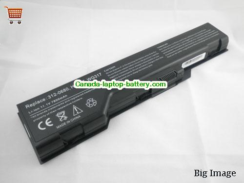 Canada Dell XPS M1730 Replacement Laptop Battery WG317 HG307 312-0680 XG510 9cells Battery