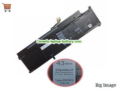 Canada Dell P63NY Battery For Latitude 13 7370 Latitude 7370 N3KPR