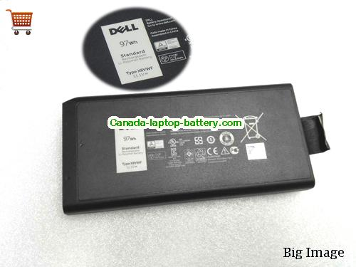 Dell YGV51 Battery 8700mAh, 97Wh  11.1V Black Li-ion