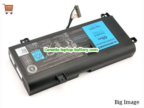 Canada GENINE Y3PN0 8X70T 69WH Battery For Dell Alienware 14 A14 M14X R3 R4 Laptop