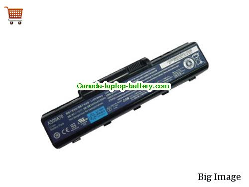 ACER AS09A71 Battery 5200mAh 11.1V Black Li-ion