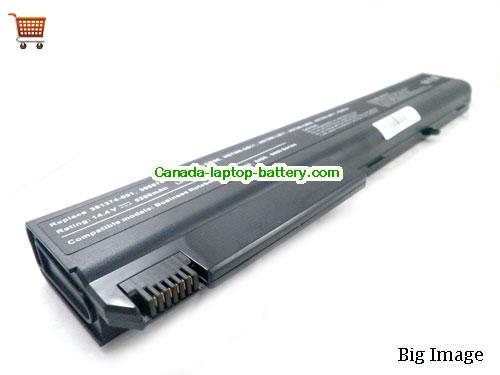 Canada Replacement Laptop Battery for  HP COMPAQ Business Notebook nx8200, Business Notebook NC8230, Business Notebook NX7300, Business Notebook 8510w,  Black, 5200mAh 14.4V