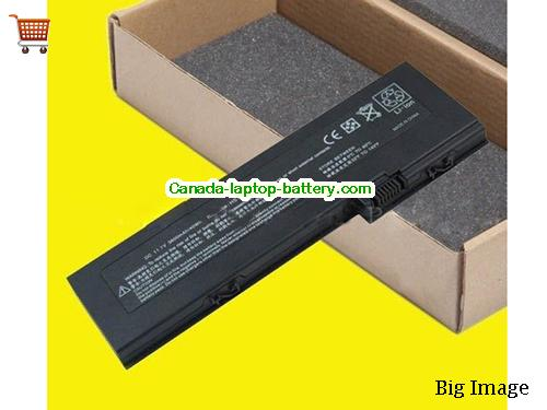 Canada Replacement Laptop Battery for  HP COMPAQ HSTNN-XB43, HSTNN-XB45, Business Notebook 2710p,  Black, 3600mAh 11.1V