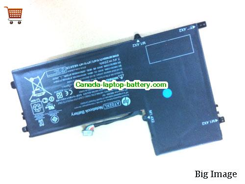 Canada HP AT02XL Laptop Battery 7.4V 25WH Black