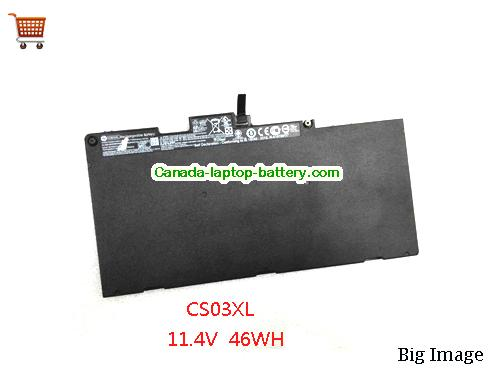 HP CS03XL Battery 46.5Wh 11.4V Black Li-Polymer