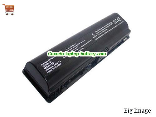 HP 411463-141 Battery 5200mAh 10.8V Black Li-ion