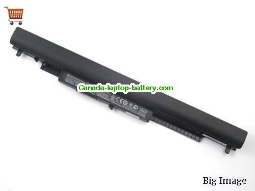 HP 15-af148CA Battery 2620mAh, 41Wh  14.8V Black Li-ion