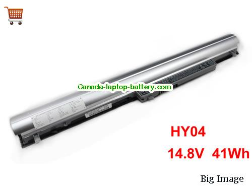 Canada Genuine HP HY04 717861-851 notebook battery 14.8v 41Wh