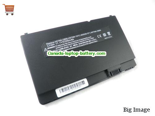 Canada Replacement Laptop Battery for  HP COMPAQ Mini 700EL, Mini 700ES, Mini 701EN, Mini 700EE,  Black, 4800mAh 11.1V