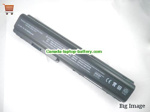 Canada HP HSTNN-IB75 497705-001 HSTNN-DB75 464059-121 Replacement Battery for HP Pavilion DV7 DV7T DV7Z Laptop