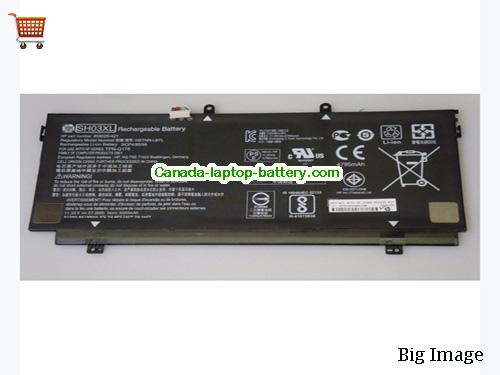 Canada Genuine HP SH03XL Battery Li-Polymer 859026-421 57.09Wh 11.55V