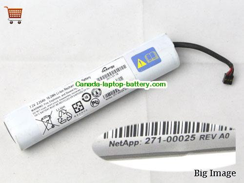 Canada Original Laptop Battery for  IBM 271-00025, 27100025, 17FBC,  Sliver, 16.2Wh, 2.25Ah 7.2V