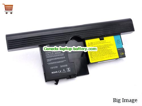 LENOVO FRU 92P1163 Battery 5200mAh, 75Wh  14.4V Black Li-ion