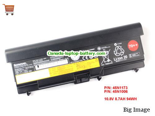 LENOVO FRU 42T4819 Battery 94Wh, 8.7Ah 10.8V Black Li-ion