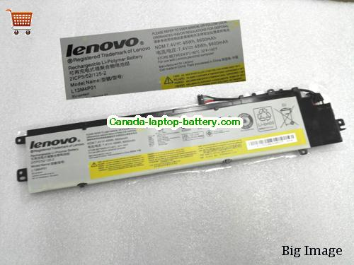 Canada Lenovo L13M4P01 L13L4P01 Battery For Lenovo Y40 Series