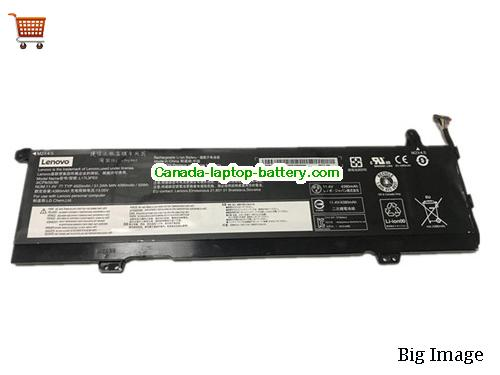 LENOVO Yoga 730-15IKB Battery 4520mAh, 52Wh  11.4V Black Li-ion