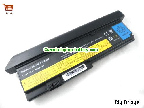 IBM 43R9253 Battery 7800mAh 10.8V Black Li-ion