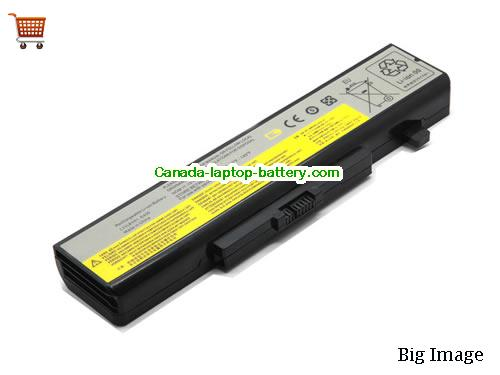 Canada New L11N6R01 L11P6R01 Replacement Battery For Lenovo IdeaPad Y480 Y580 Z480 Thinkpad E530 Laptop