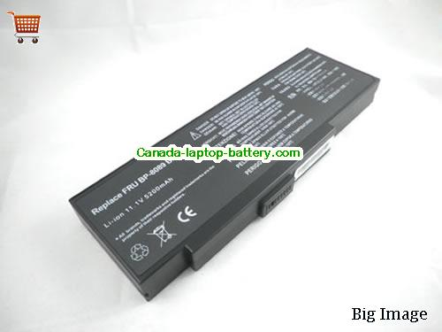 Canada Replacement Laptop Battery for  HP EasyNote 6307,  Black, 4400mAh 11.1V