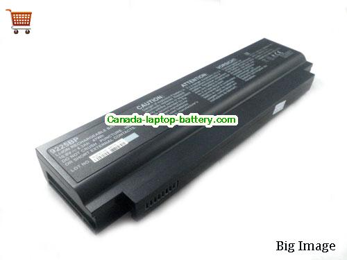 Canada Replacement Laptop Battery for  HCL ME XITE 45,  Black, 47Wh 10.8V