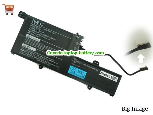 NEC PC-VP-BP120 Battery 3166mAh, 33Wh  11.52V Black Li-ion