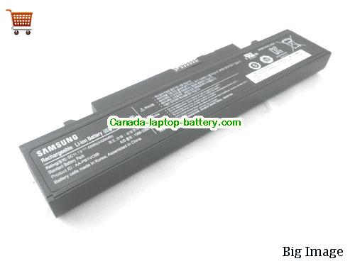 SAMSUNG Q330 Series Battery 4400mAh 11.1V Black Li-ion