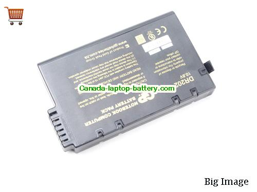 Canada GP DR202 GP SP202A Battery For Ast A40 Bsi NB8600 Canon CXP120 6200 Series