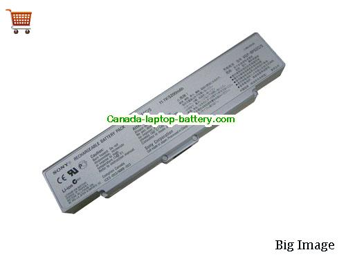 SONY VGP-BPS2 Battery 5200mAh 11.1V Grey Li-ion